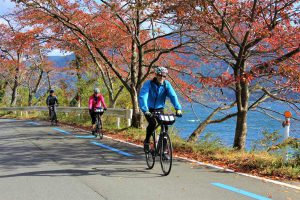 Lake Biwa cycling