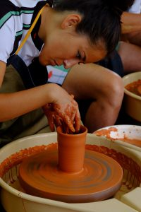 Pottery making experience