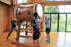 Taiko drumming experience