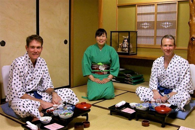 aizu ryokan dinner