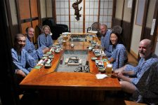 Aizu bike tour dinner