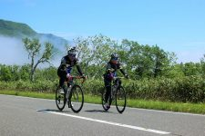 Cycling to Shiretoko pass