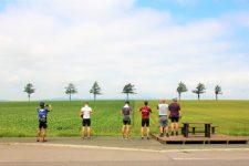 Hokkaido cycling Marchen Hill