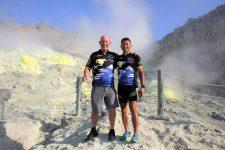 Hokkaido cycling Mt Iwo