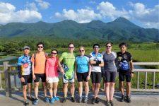 Hokkaido cycling Shiretoko Mountains