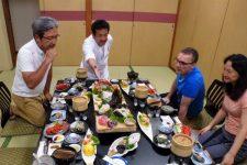 Minamiboso dinner