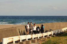 Minamiboso bike tour rest stop