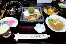 Mt Mitake shukubo dinner
