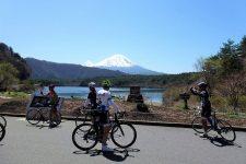 Mt. Fuji from Lake Saiko