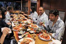 Sado Island dinner