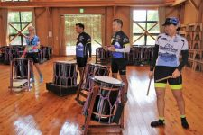 Sado Island taiko drumming