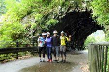 Tama River cycling